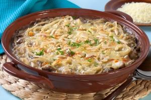Chicken Tetrazzini Healthy Recipe